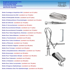 French Sets - Boite d'instruments