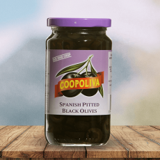 Coopoliva Spanish Pitted Black Olives