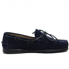 Leather C&C Royal Navy Casual Boat Shoes
