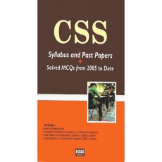 Css Syllabus And Past Papers Book