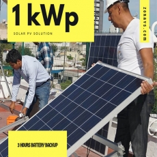1.0 kWp Solar PV Solution